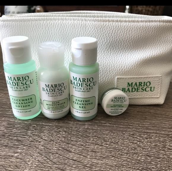 Nwwt Mario Badescu Mini Travel Set
